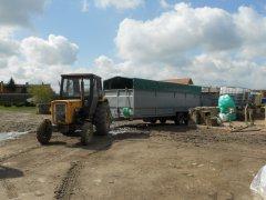 Ursus C-360 & Przyczepa do transportu świń