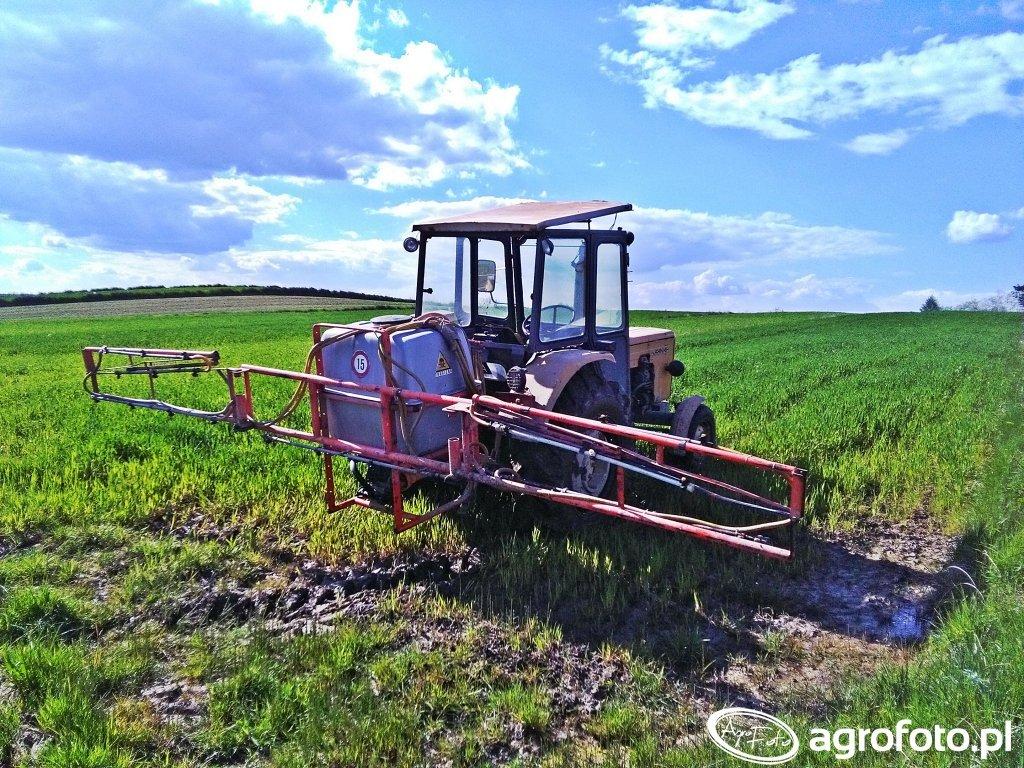 Ursus C-360-3P & Agromechanika Krajn AP-400/12