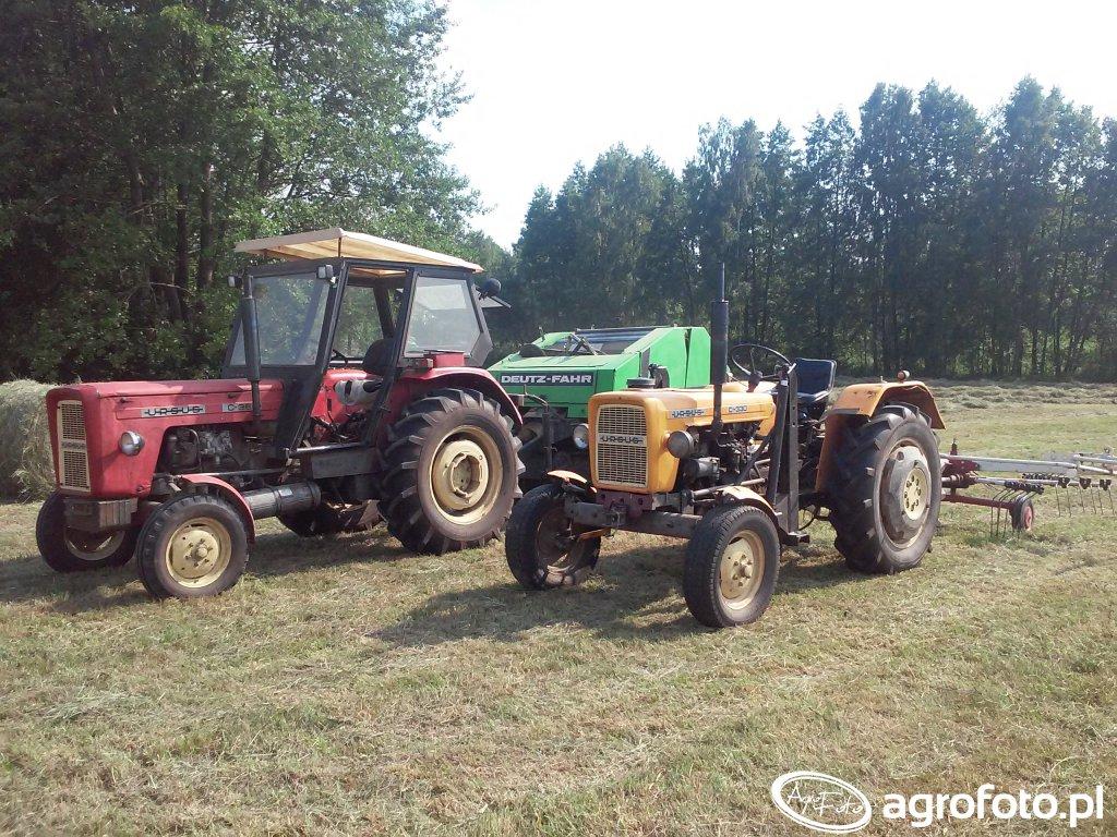 Ursus C-360 & deutz fahr gp2.30 & Ursus C-328 i kuhn