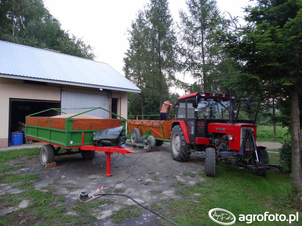 Ursus C-360 & Przyczepa & Wóz