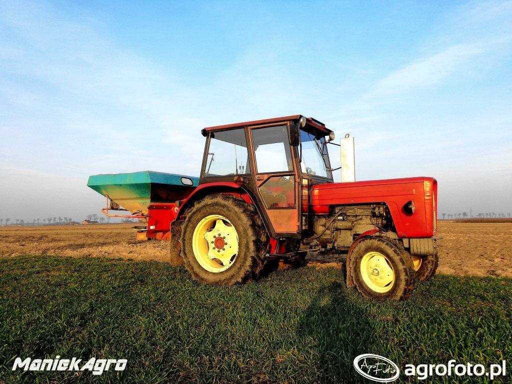 Ursus C-360 & Sulky DPX 1205