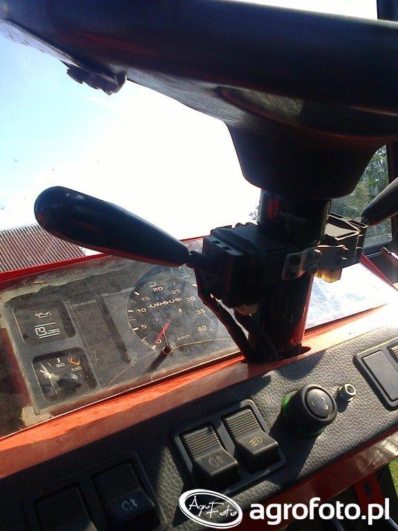 Ursus C-362 modernizacja deski rozdzielczej