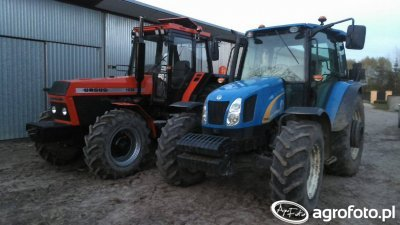 Ursus 1634 & New Holland T5040