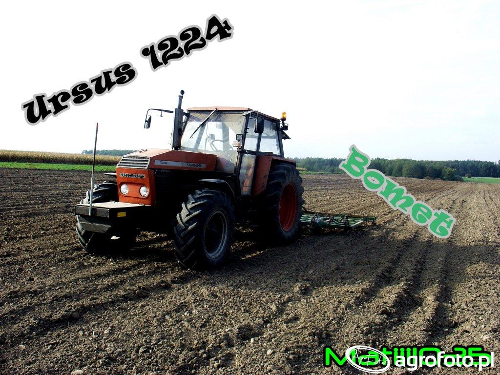 Ursus 1224 + Bomet, uprawa pod siew