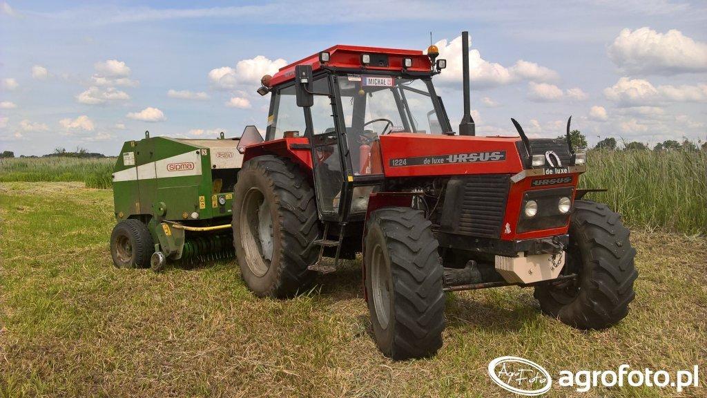 Ursus 1224 de luxe + Prasa Sipma Z-279/1 Farma