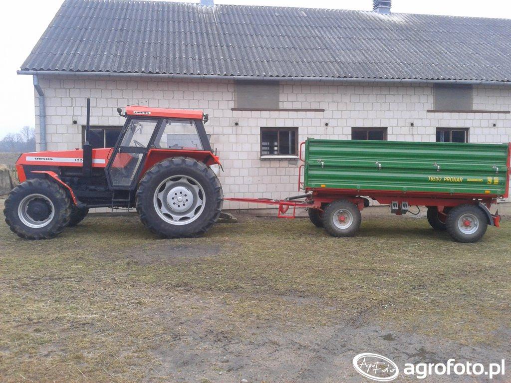 Ursus 1224 + Pronar T653/2