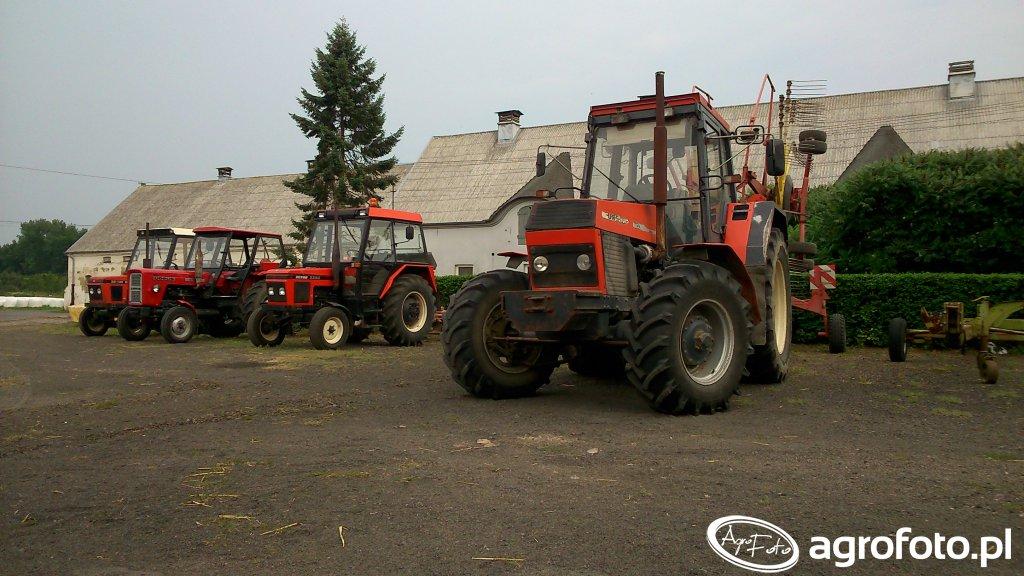 Ursus 1634 & Zetor 3320 & Ursus C-360 & Zetor 5211