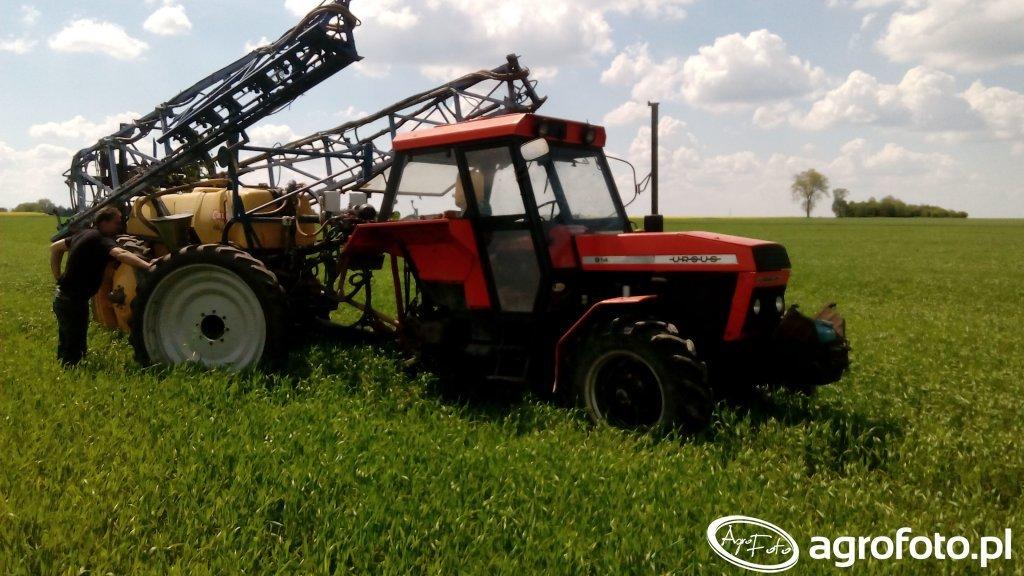 Ursus 914 + Caruella 2500