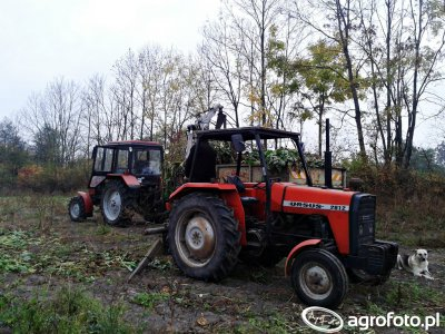Ursus 2812 + Troll 350 & Belarus 820 + Autosan D-47