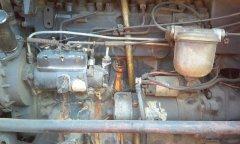 Ursus 4512 Wyciek wody z bloku silnika