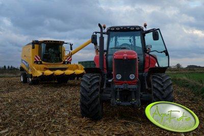 New Holland TC5060 & Massey Ferguson 6485