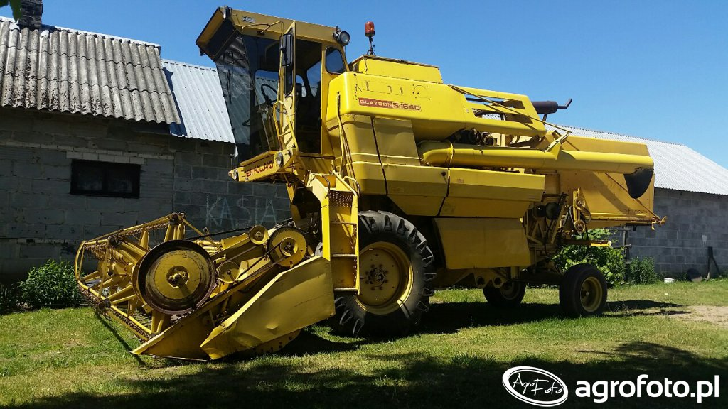 New Holland Clayson S-1540
