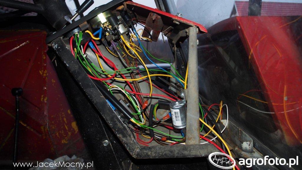 Oryginalna instalacja elektryczna Ursus C-385