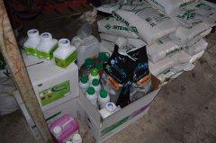 Środki ochrony roślin i odżywki