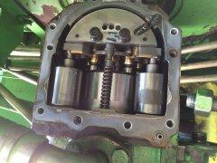 Deutz Fahr Topliner 4080HTS pompa tłoczkowa hydrostatu