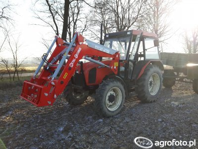 Zetor 5340 + Tur Metal-Technik tytan MT02