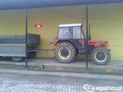 Zetor 7745 + Autosan
