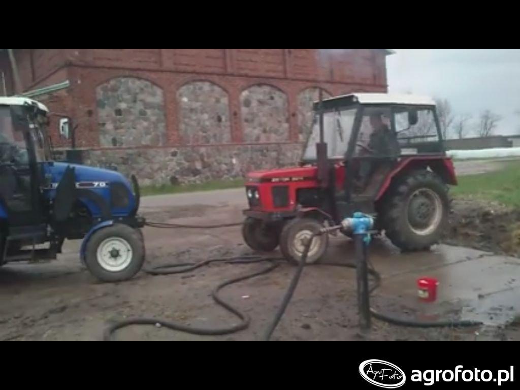 Zetor 5211 & Farmtrac 70