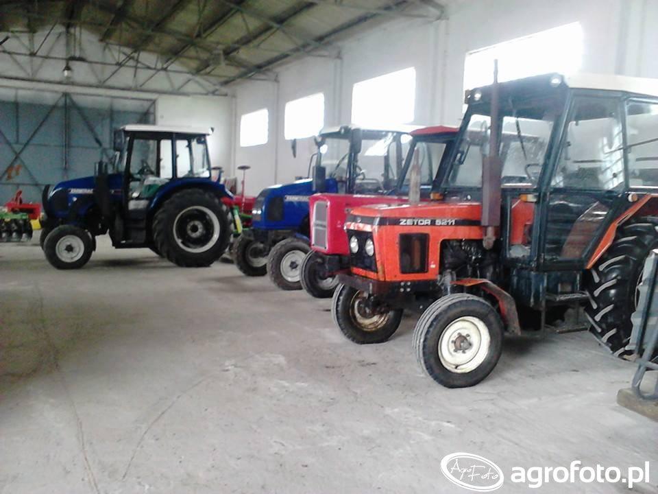 Zetor 5211 & Ursus C-360 & 2x Farmtrac 70