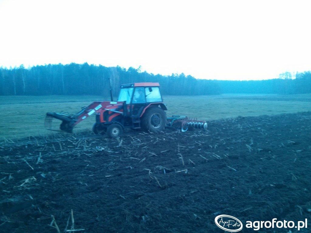 Zetor 5320 & Talerzówka Kverneland