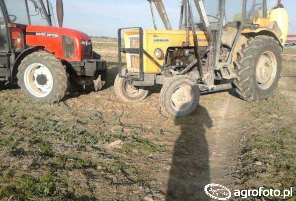 Zetor 5340 & Ursus c360 3p