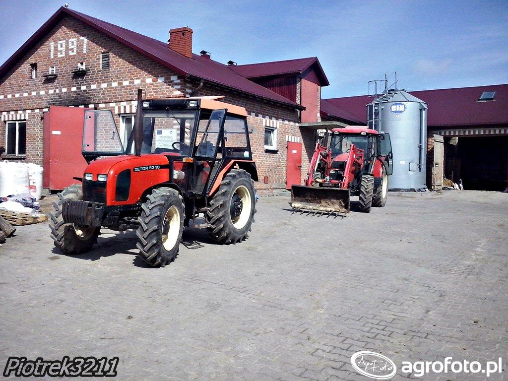 Zetor 5340 & Zetor Forterra 11441