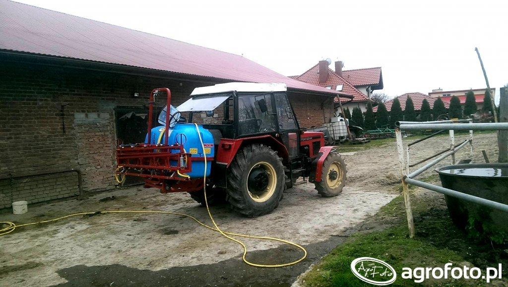 Zetor 6245+Biadzki 600