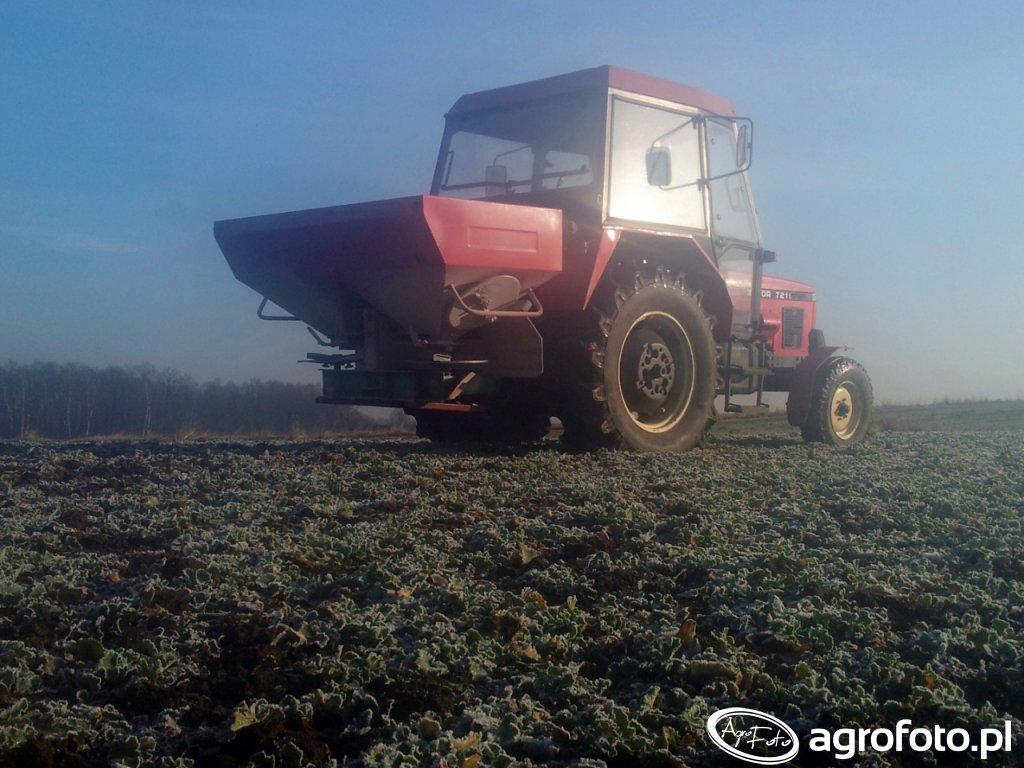 Zetor 7211 i Brzeg 850H Premium