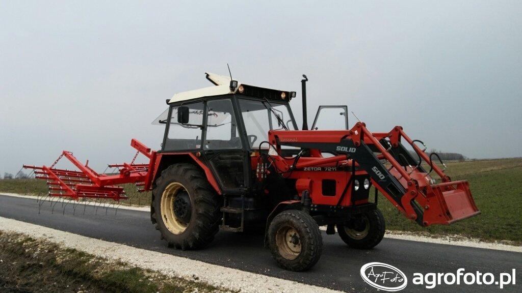 Zetor 7211 + Solid 500 + Chwastownik 4.5m