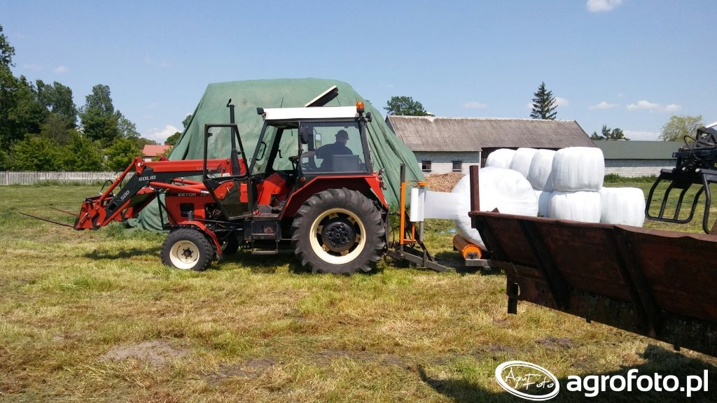 Zetor 7211 + Solid 500 + Walfarma