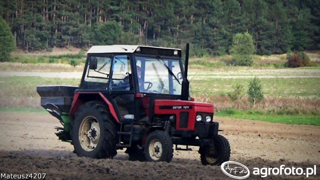 Zetor 7211 + Unia MX 850