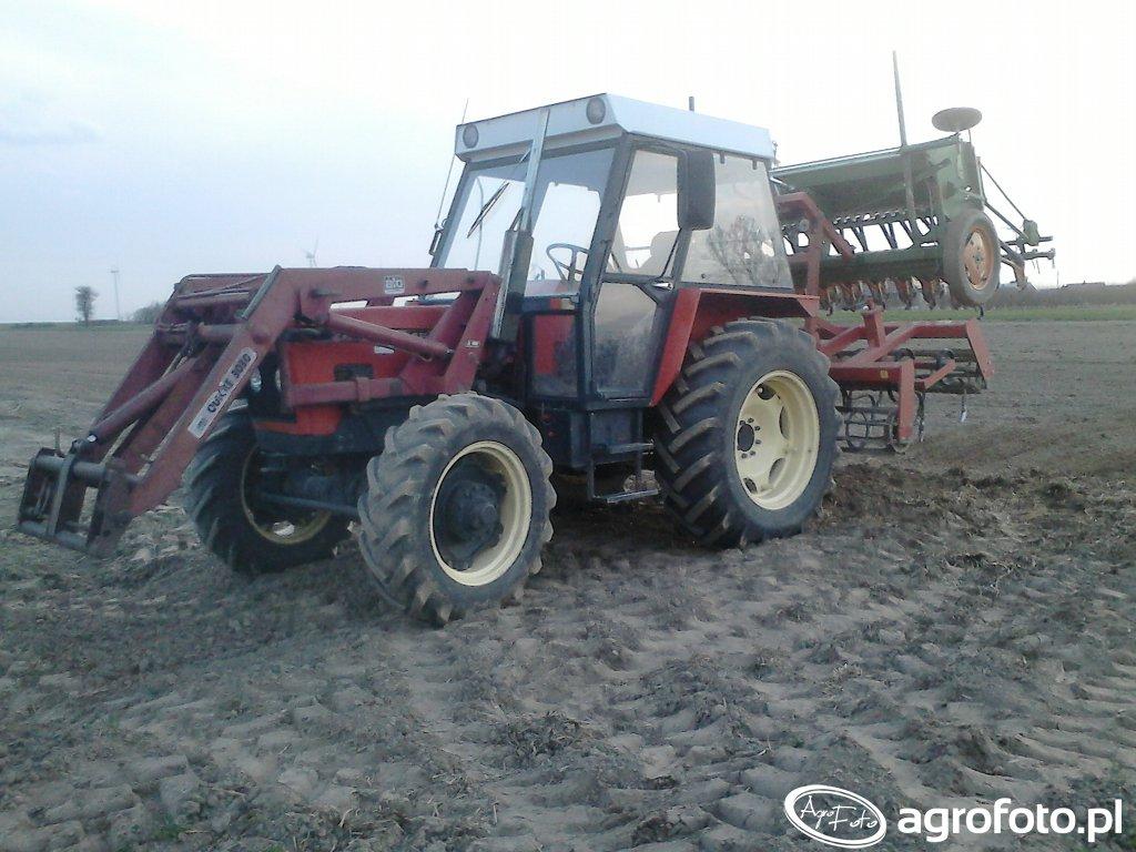 Zetor 7245 Agro-lift+Amazone D8