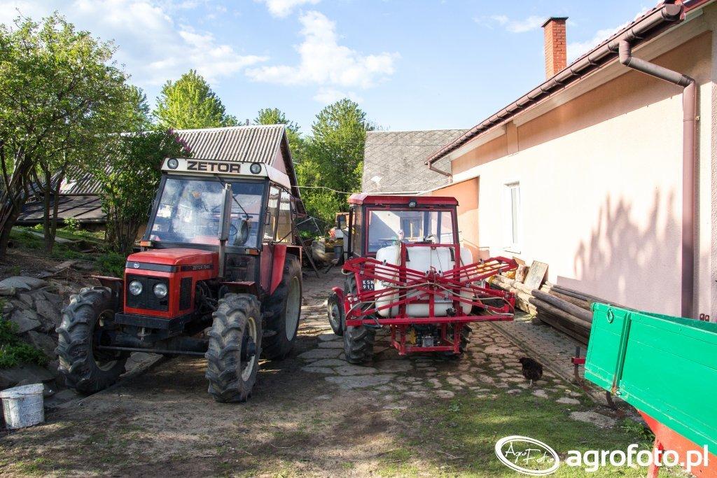 Zetor 7245 & Ursus C-330 + Pilmet 310N