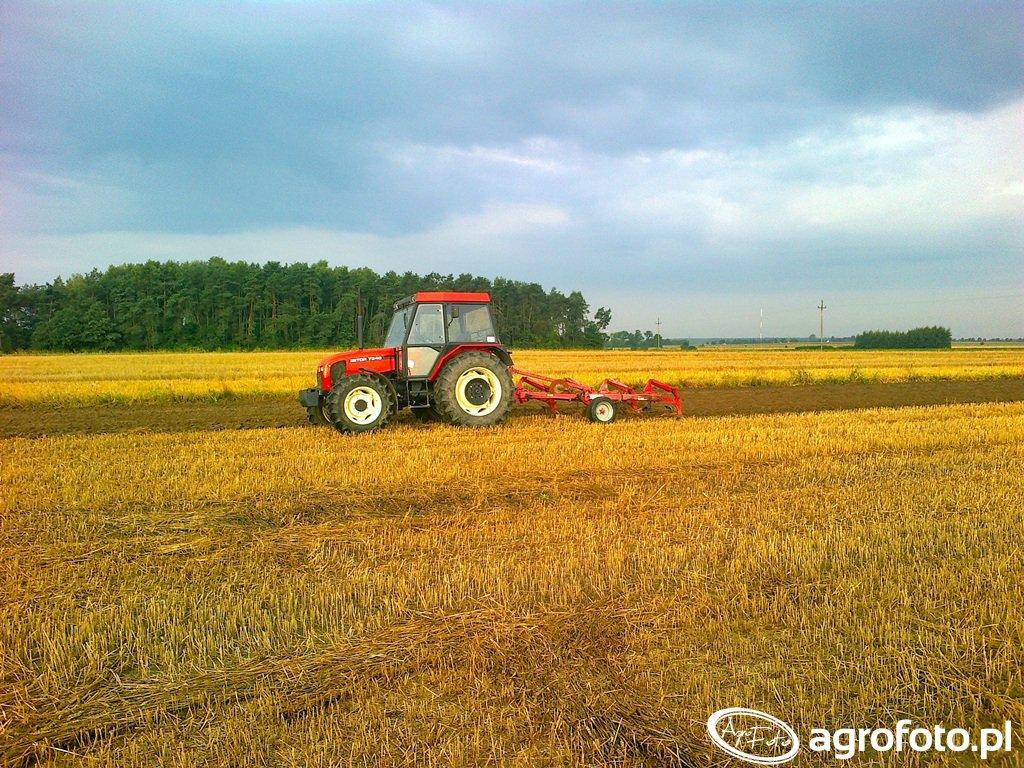 Zetor 7340 & Unia TUR S40