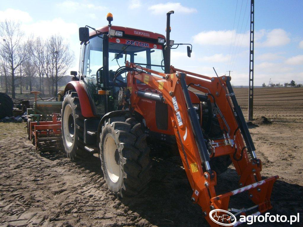 Zetor 7341 & Agro-Masz + Amazone D7