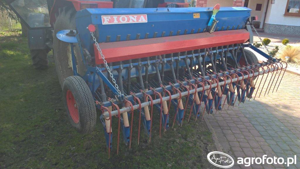 Zetor 7745+siewnik Fiona D-78 2.5m