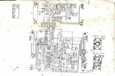 Schemat instalacji elektrycznej Zetor ZTS 16245 1
