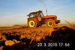 Zetor 12045 + Brony 4m
