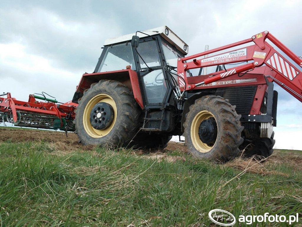 Zetor 10145 & Agro-Masz AU3.6