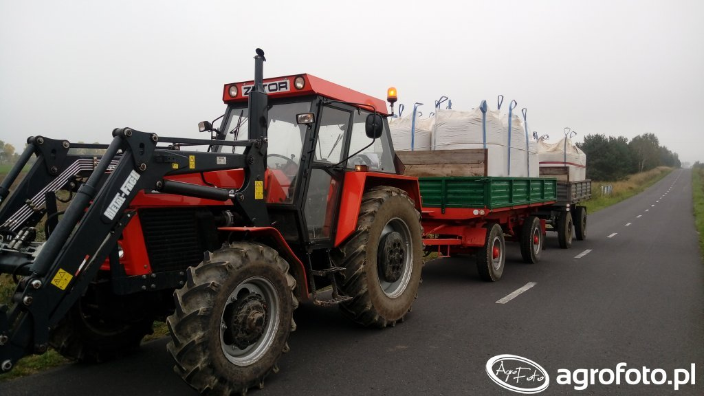 Zetor 10145 i autosanki