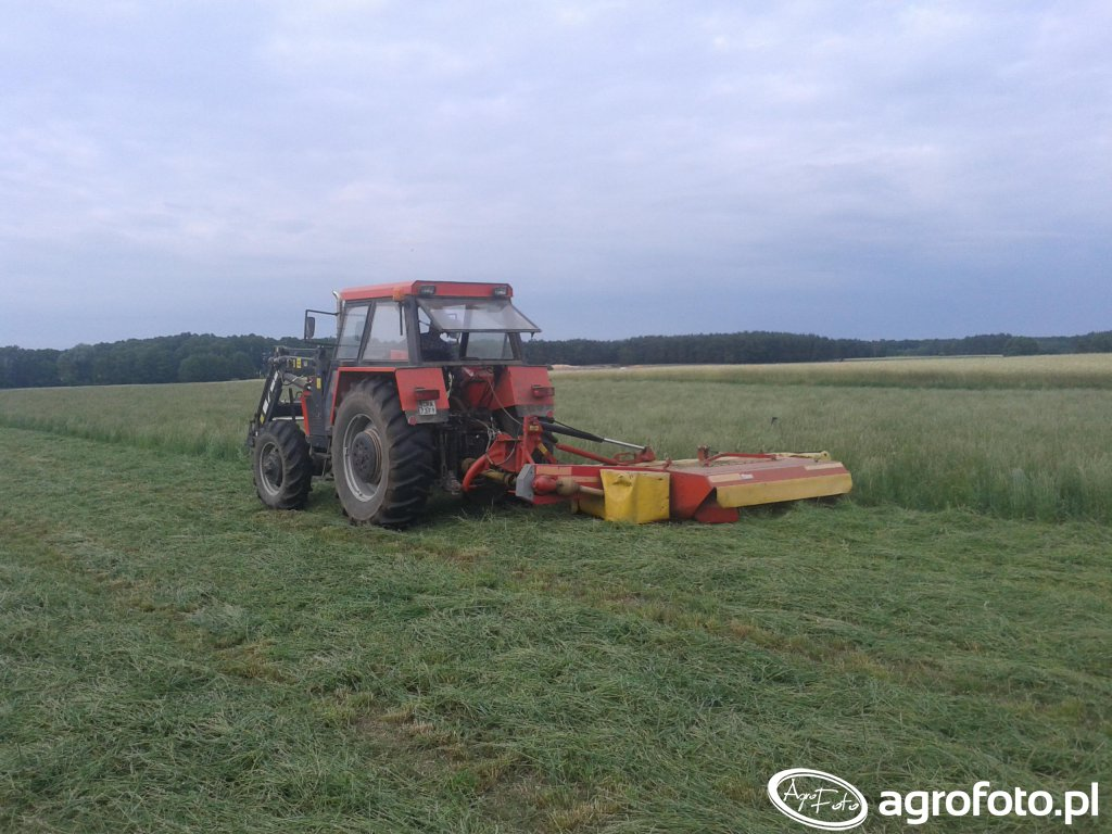 Zetor 10145 & Niemeyer disco 260