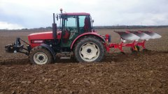 Zetor 9540 + pottinger servo 25