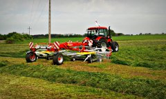 Zetor Proxima 100 Power & Pottinger TOP 762C