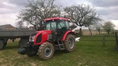 Zetor PROXIMA 6441 +Krone Mustang 100/3