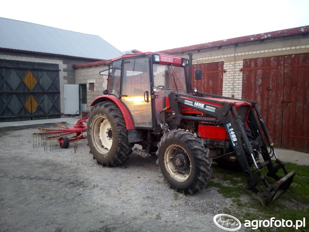 Zetor 8540 Turbo + Niemeyer RS330D Super