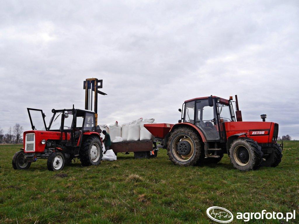 Zetor 9540 & Ursus C-355