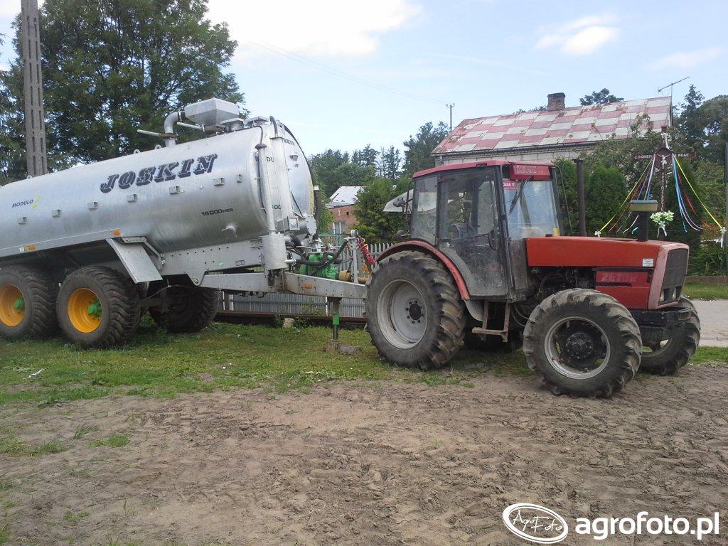 Zetor 9540&Joskin 16000MEB