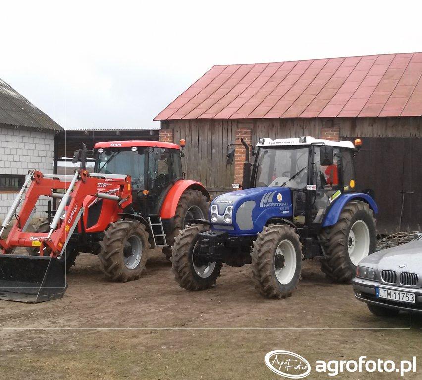 Zetor Forterra 125 + Farmtrac 675 DTN