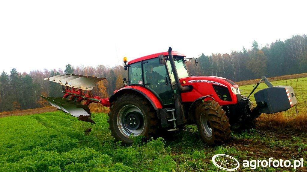 Zetor Forterra 140 HSX i Agro-Masz POH4