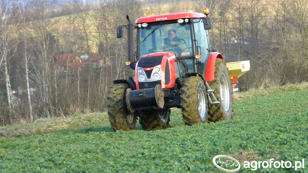 Zetor Proxima 100 Power & Vicon BS 1400
